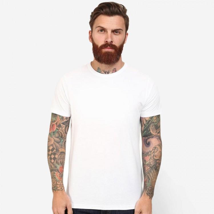 Gildan plain white 100 premium cotton 180 gsm t shirt for Premium plain t shirts