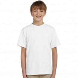 Gildan Kids White 100% Softstyle cotton T-Shirts