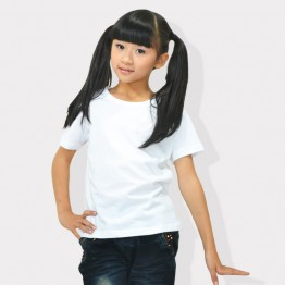 Fruit Of The Loom Valueweight Girl's Plain White 100% cotton T-Shirts
