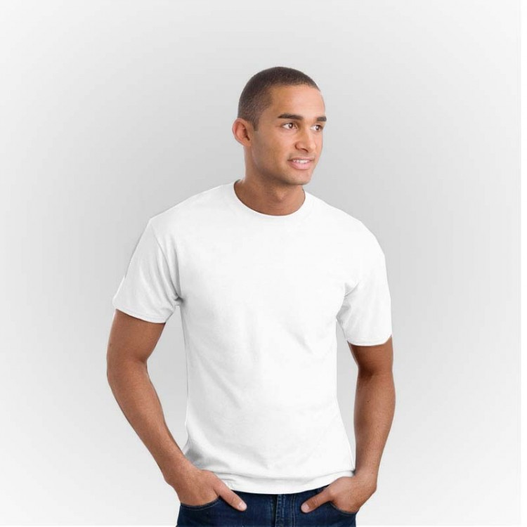 Fruit Of The Loom Plain White 100% cotton original T-Shirts 185 GSM