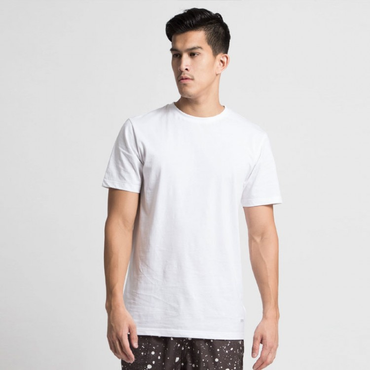 Fruit of the loom plain white 100 cotton valueweight t for Cotton white t shirt