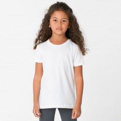 Fruit Of The Loom Plain Kids White 100% cotton T-Shirts