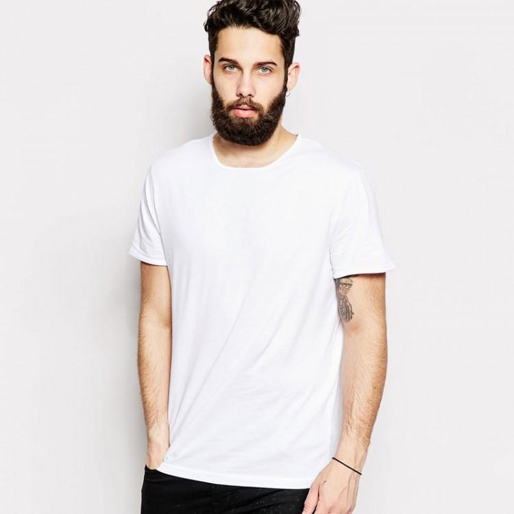 Fruit of the loom plain white 100 cotton super premium t for Plain t shirt model
