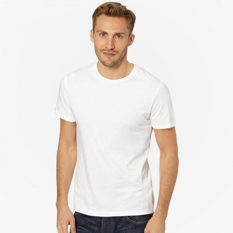 Fruit of the loom plain white 100 cotton original t shirts for Plain t shirt model