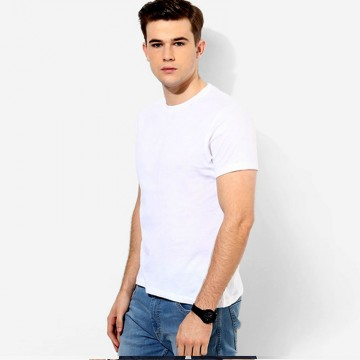 Fruit Of The Loom Plain White 100% Fitted Valueweight T-Shirt