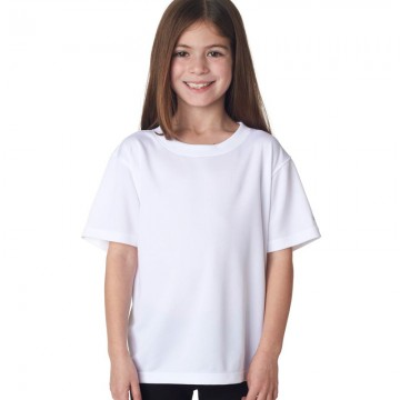 SnS Kids Plain White 100% cotton T-Shirt