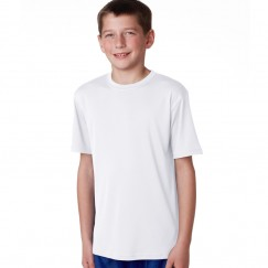 AWD Plain white Kids 100% Polyester T-Shirts